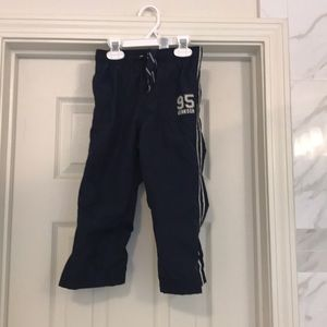 OshKosh toddler boys athletic pants in navy 4T